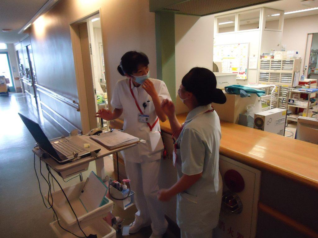 看護学生の指導